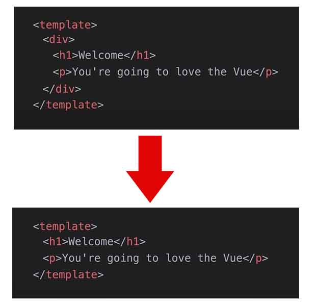 multi-root components Vue Js
